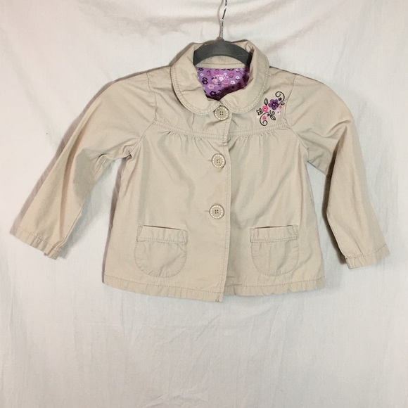Carter's Other - Carter's Child's Embroidered Spring Jacket sz 5